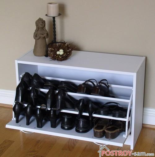 Шкаф для обуви Слим. Фото