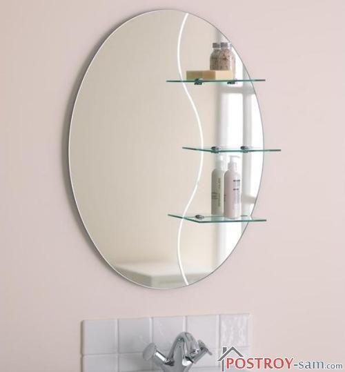 Полка с зеркалом