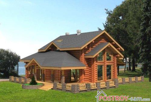 Дом с террасой фото