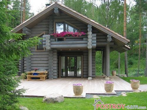 Красивые террасы в частном доме. Фото