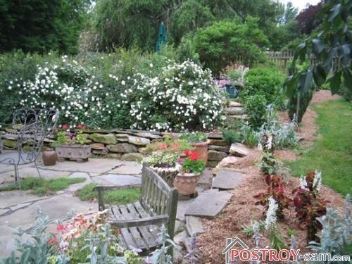 Садовые террасы