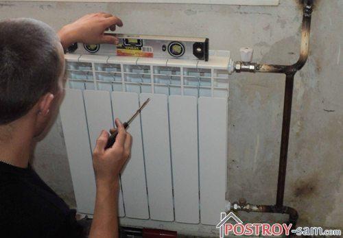 Особенности монтажа радиаторов отопления