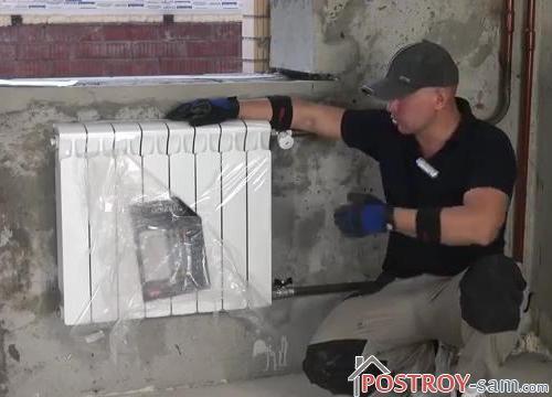 Замена радиаторов отопления. Как сделать правильно?