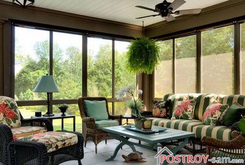Дачный дом с верандой — прекрасное решение для загородного дома