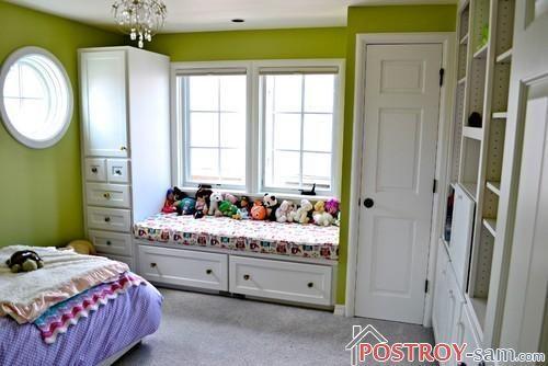 Дизайн детской комнаты для девочки 3 - 6 лет