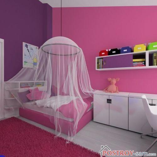 Комната для трехлетней девочки