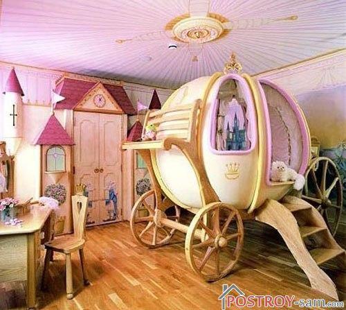Комната девочки принцессы