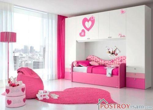 Дизайн детской комнаты для девочки 7 - 10 лет