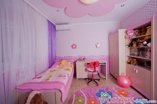 Цветовое решение и отделка комнаты
