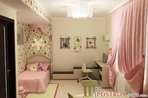 Дизайн детской комнаты для девочки 7 лет фото