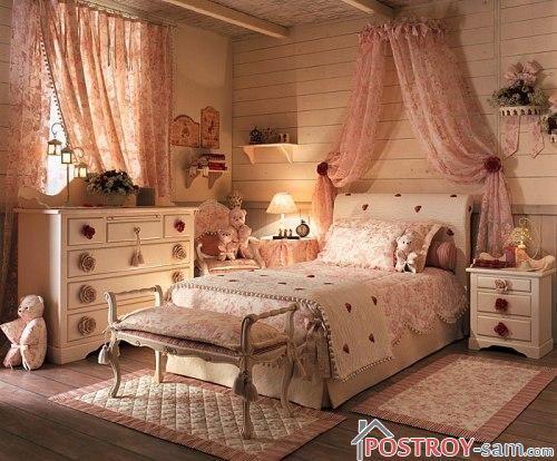 Дизайн детской комнаты для девочки-подростка 11-16 лет фото