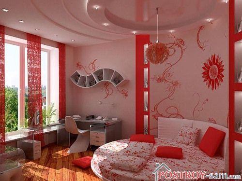 Дизайн комнаты для девушки. Как правильно оформить интерьер комнаты? Фото