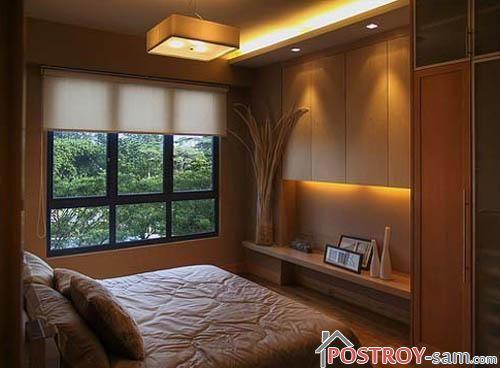 Дизайна узких спален фото
