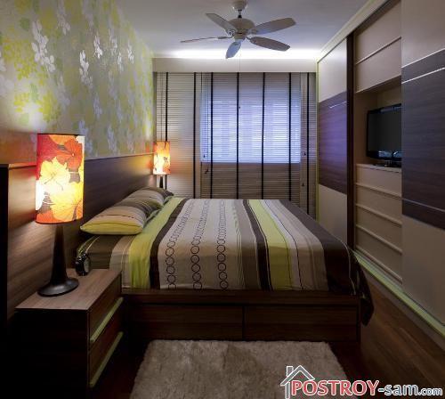 Дизайн узкой спальни или что нужно сделать, чтобы расширить комнату?