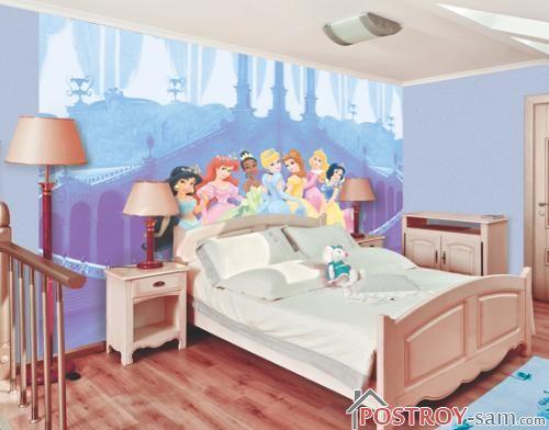 Фотообои для комнаты девочки