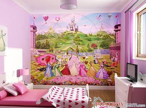 Фотообои в комнату девочки