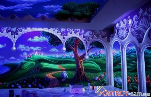 3D-фотообои для детской комнаты