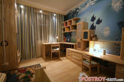 Выбор фотообоев для интерьера детской комнаты