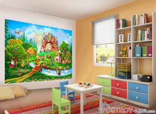 Как выбрать фотообои для детской комнаты?