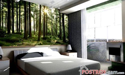 Как выбрать фотообои для спальни?