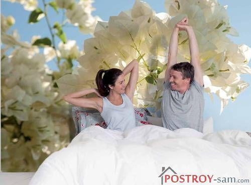 Цвета фотообоев для спальни
