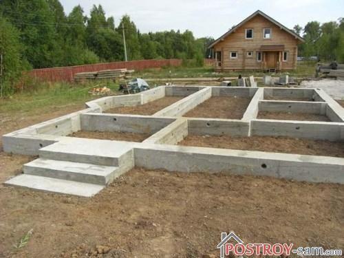 Какой сделать фундамент для одноэтажного дома?