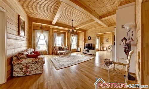 Оформление дома в стиле русской усадьбы