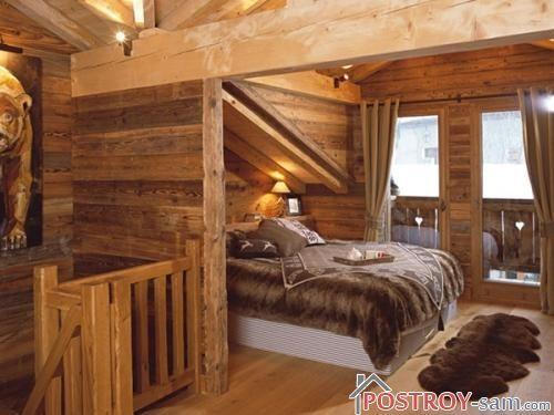 Стиль кантри деревянного дома