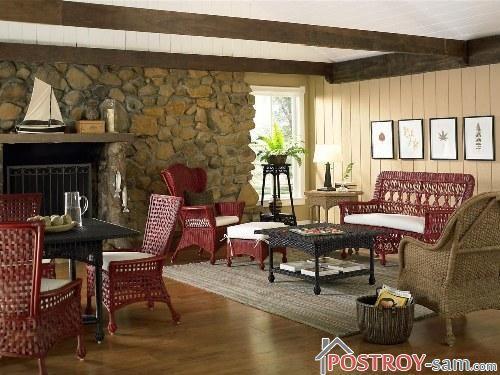 Стиль шале в интерьере деревянной дачи