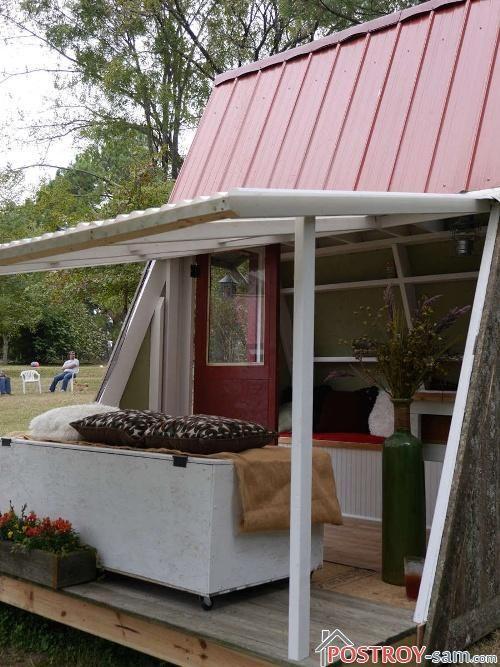 Маленькие красивые дачные домики