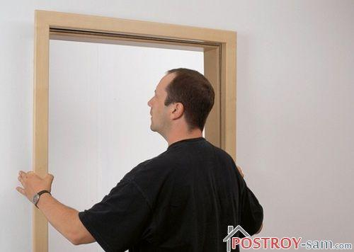 Замена дверной коробки