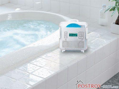 Какое радио для ванной комнаты выбрать?