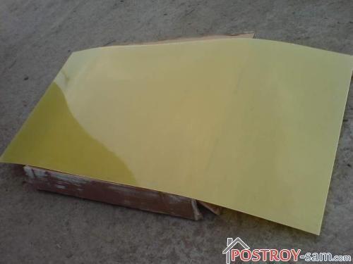 Лист текстолита