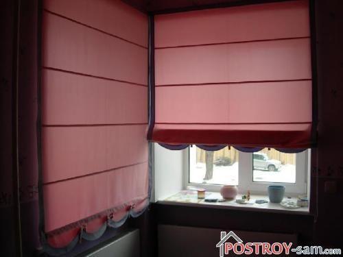 Римские шторы для детской комнаты фото