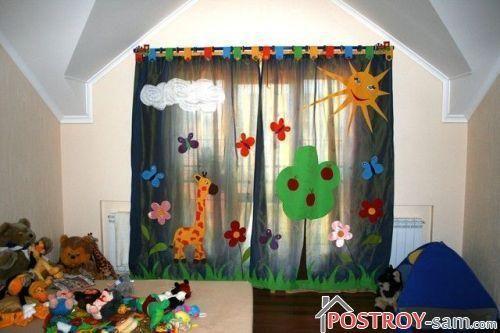 Сказочные шторы для детской