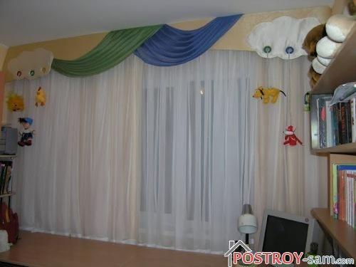 Детские шторы для мальчиков