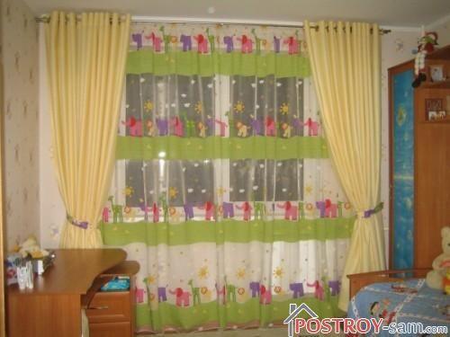 Детские шторы для девочек