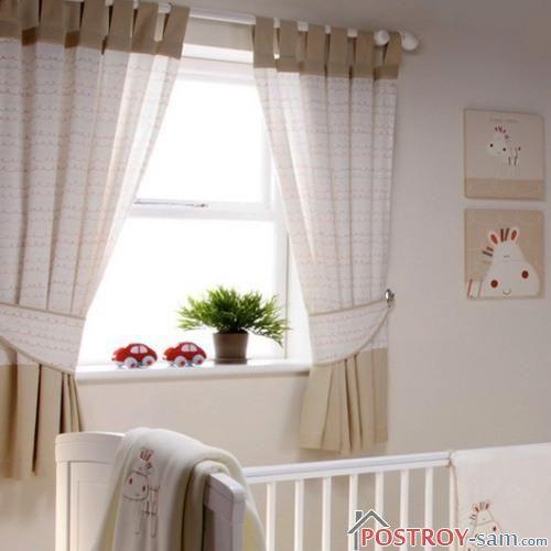 Шторы в комнате младенца