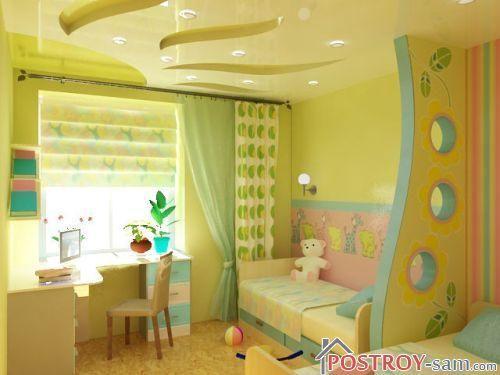 Дизайн штор для детской девочки