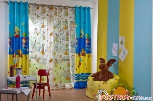 Многоцветные шторы