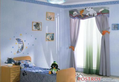 Шторы для комнаты мальчика
