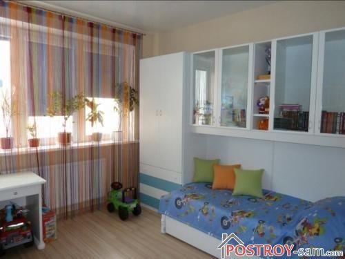 Нитяные шторы для детской