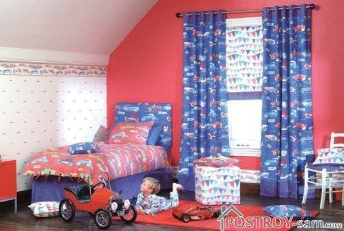 Как выбрать подходящие шторы в детскую для мальчика?