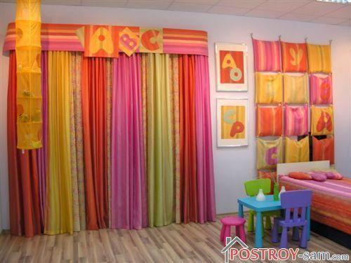 Шторы в детскую — выбираем шторы правильно. Фото идеи