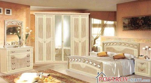 Дизайн бежевой спальни фото