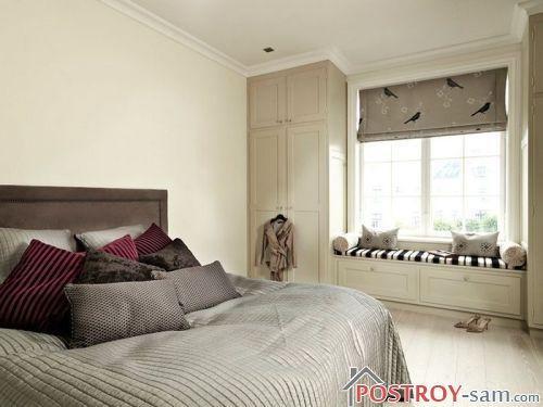 Бежевая спальня — универсальный и прекрасный интерьер