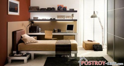Дизайн комнаты для 18-ти летнего юноши