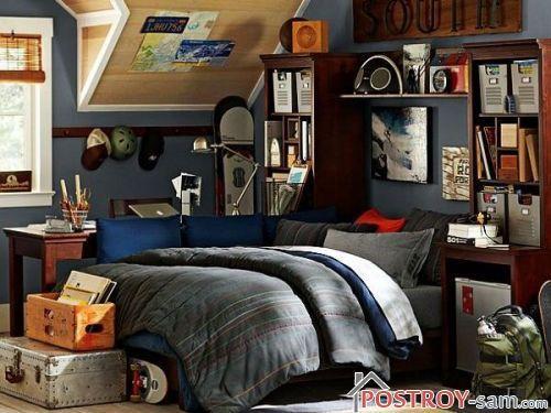 Высокая кровать для подростка