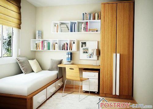 Маленькая комната подростка