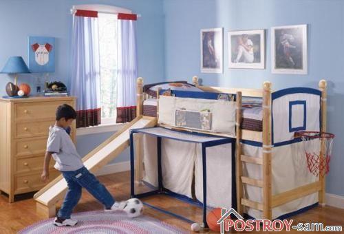 Оформление комнаты для мальчика 12 лет